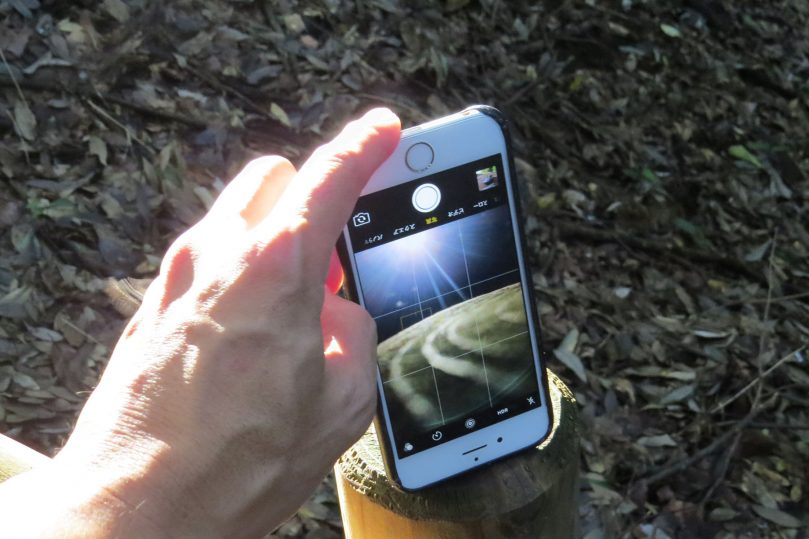 iPhone逆さ撮り実例1