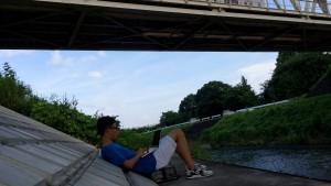 橋の下は最高のNORA ITスポット
