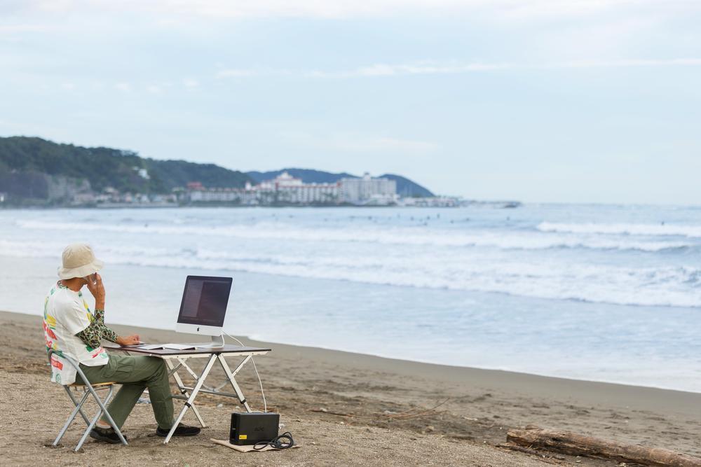 海辺がオフィス